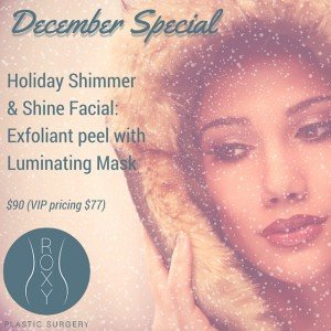 Holiday Facial Columbus OH Special