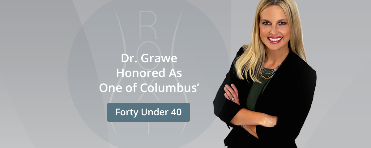 Dr. Grawe Honored as Columbus Business First's Forty Under 40